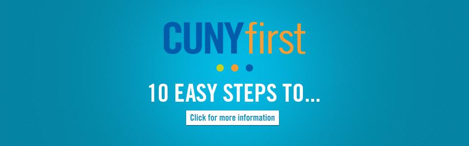CUNYfirst guides