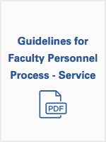 Guidelines for Professional Process - Service