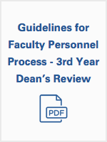 Guidelines for Professional Process - deans review