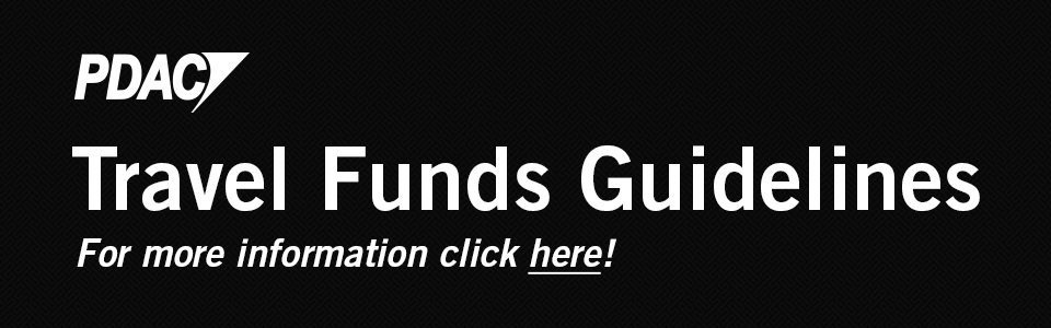 PDAC Travel Funds Guidelines