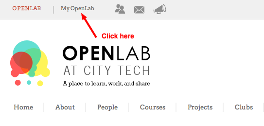 How to Create an ePortfolio Site on the OpenLab 2
