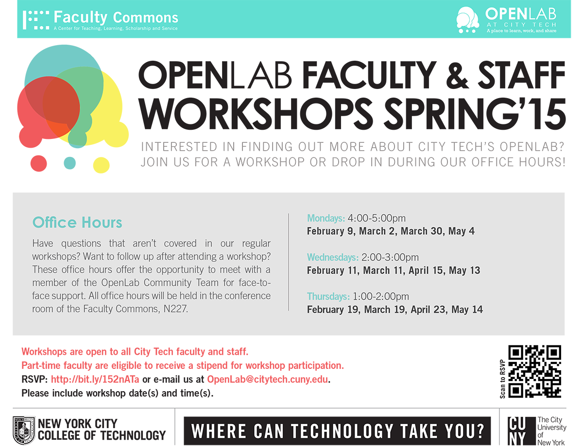 OpenLab: Office Hours 1