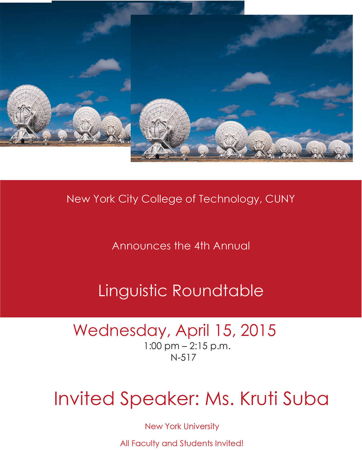 Linguistic Roundtable 1