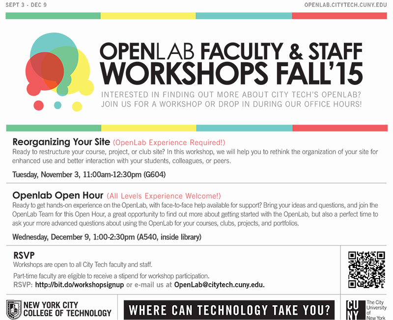 OpenLab: Reorganizing Your Site 1