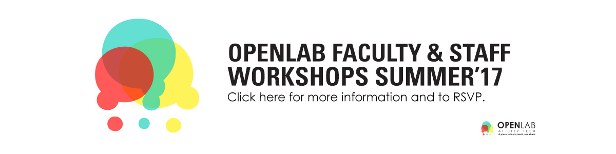 OpenLab Workshops