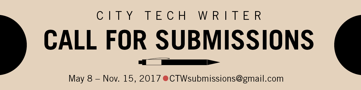 City Tech Writer Submission