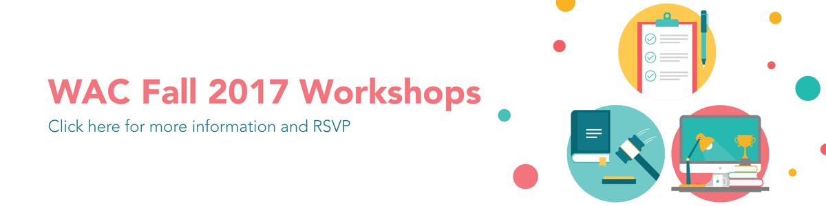 WAC Workshops