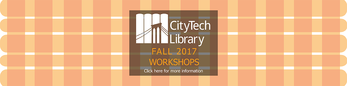 Fall 2017 Library Workshops