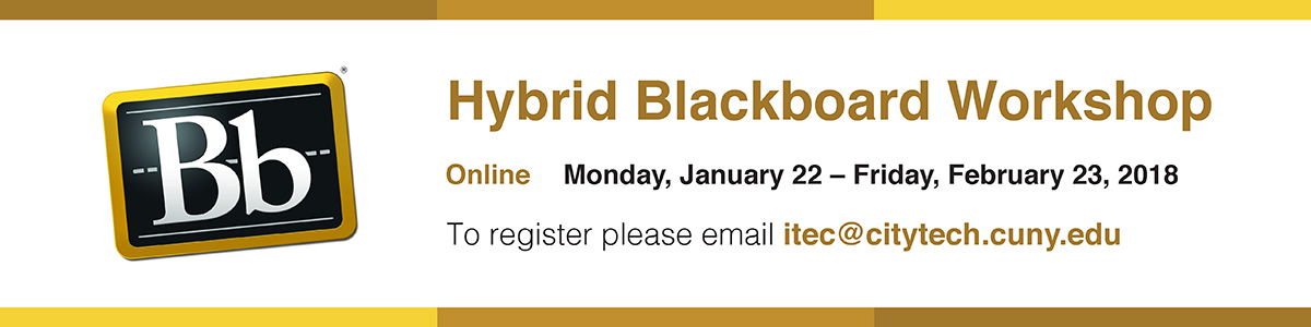 iTEC Hybrid Blackboard Workshop