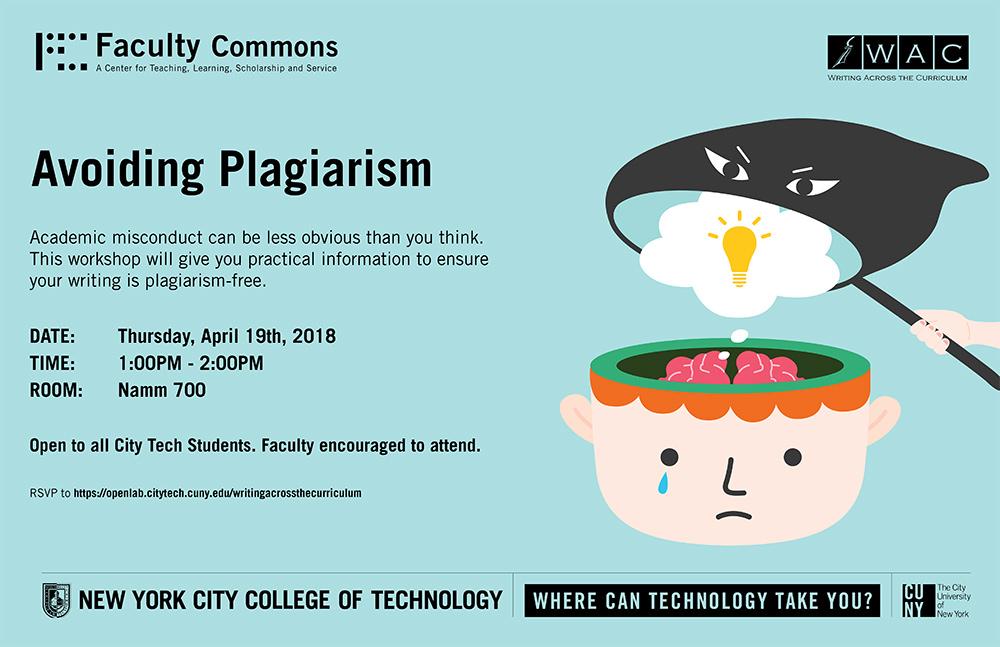 WAC: Avoiding Plagiarism