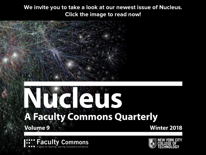 Nucleus Volume 9 WInter 2018