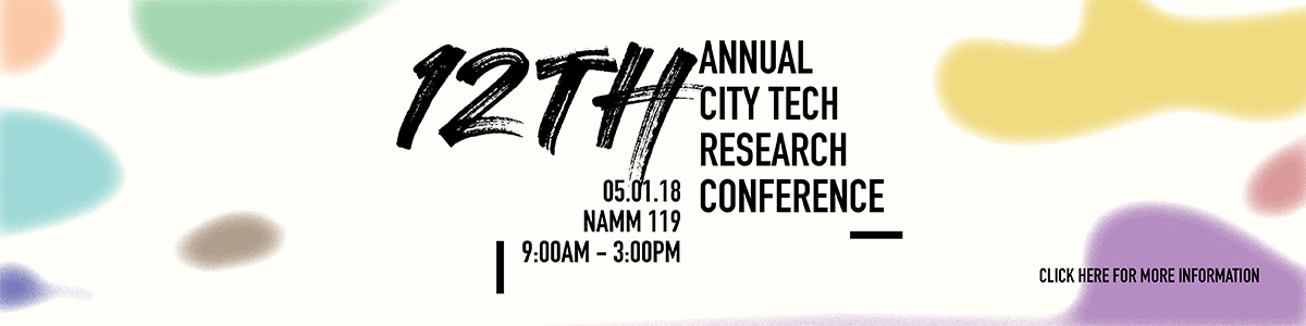 12th City Tech Research Conference Web Banner