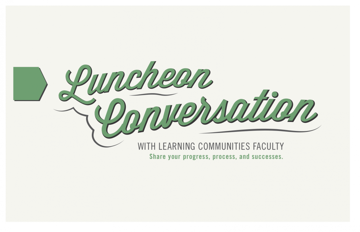 Luncheon Conversation Poster