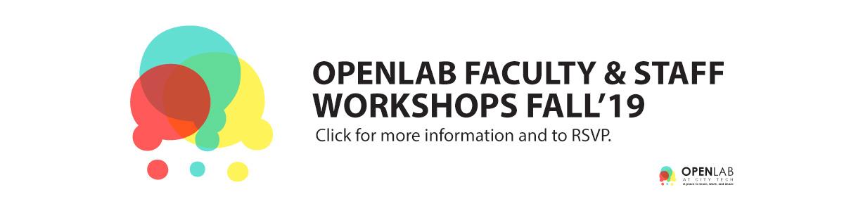OpenLab Fall 2019