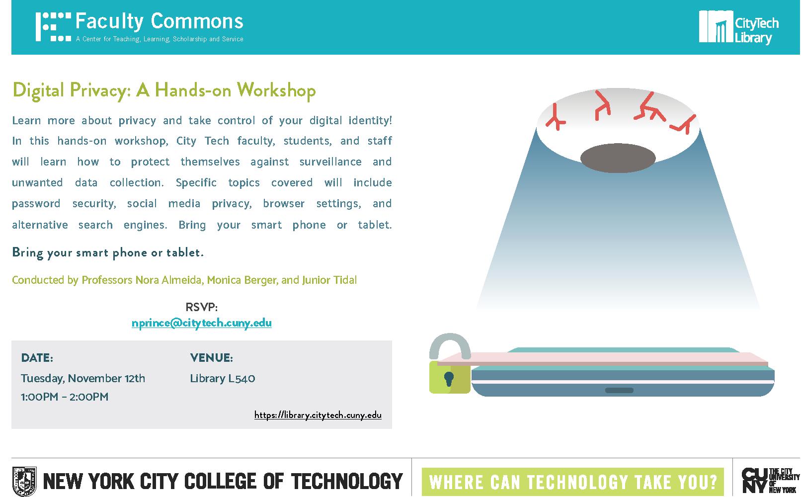 Digital Privacy: A Hands-on Workshop 4