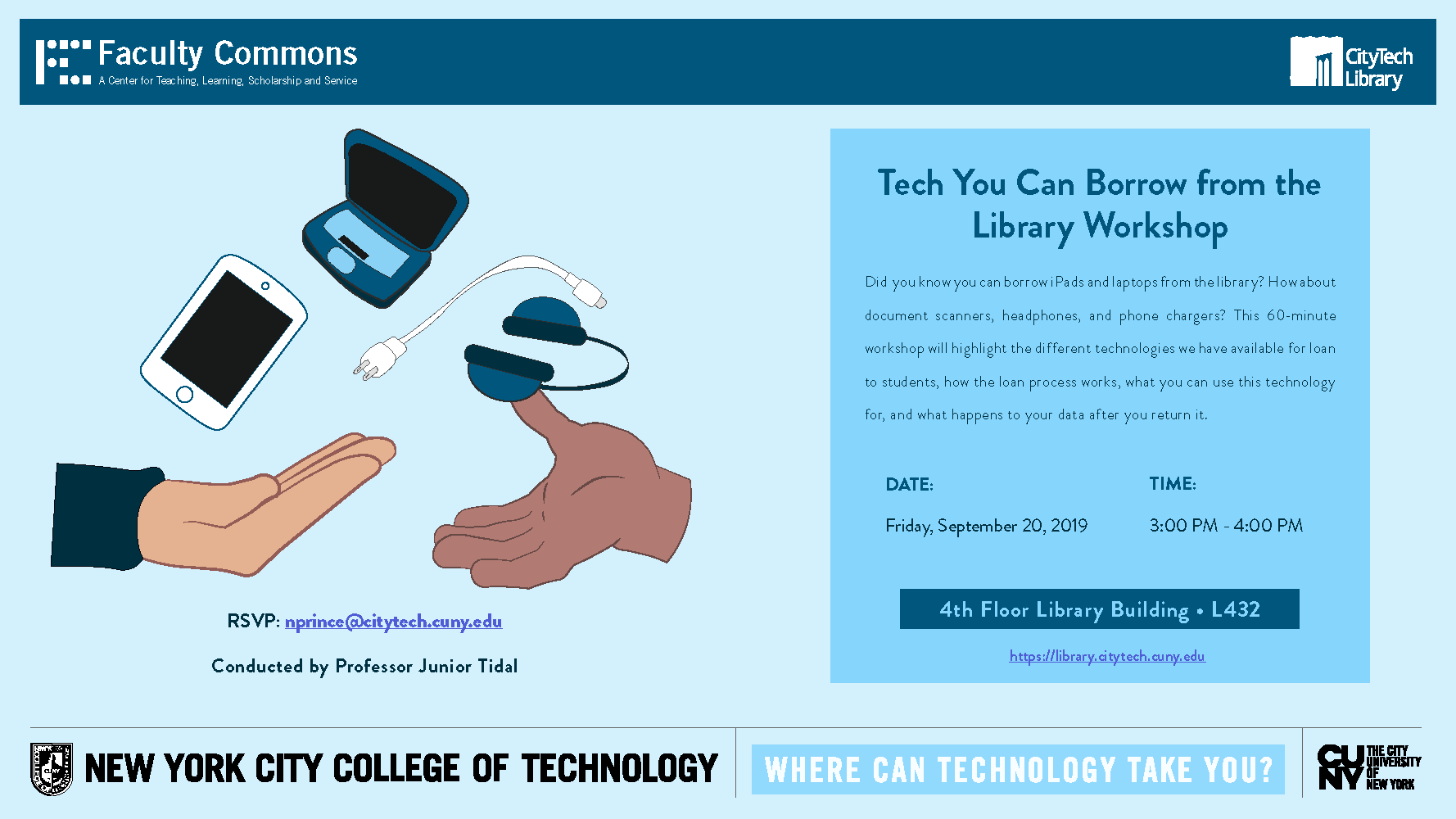 Tech You Can Borrow from the Library Workshop 5