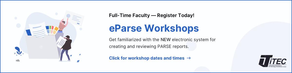 eParse Workshops