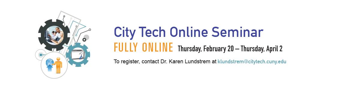 City Tech Online Seminar Spring 2020